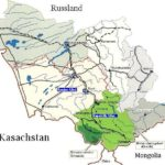 Karte Altai